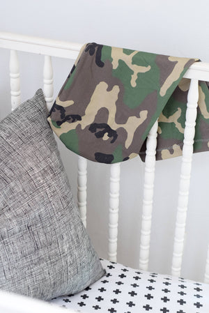 Swaddle Sack, Camo, Cocoon, - Dream Evergreen