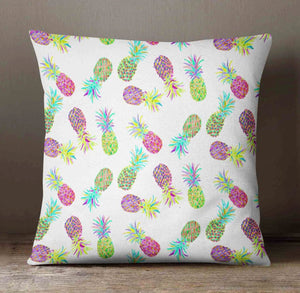 Pineapple Pillow - Decorative Pillow Slipcover - Orange Blossom Special  @orangeblossomspecial805