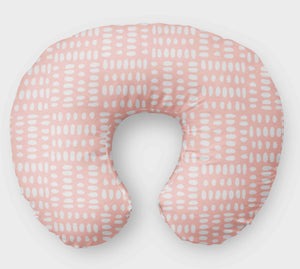 Nursing Pillow Cover - Pink  Boppy Cover - - Orange Blossom Special  @orangeblossomspecial805