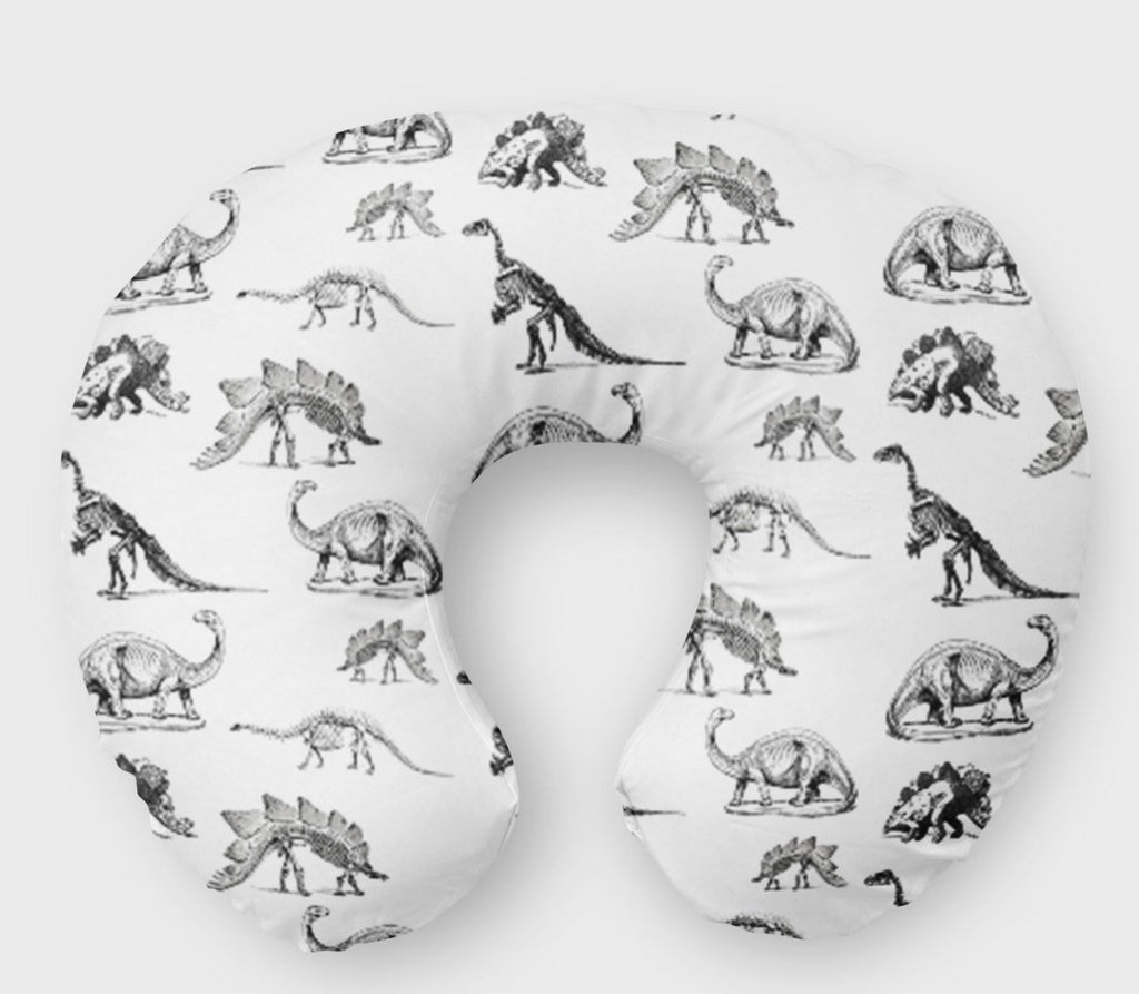 Dino Boppy Cover- Dinosaur -T-Rex Monochrome - Dream Evergreen @DreamEvergreen