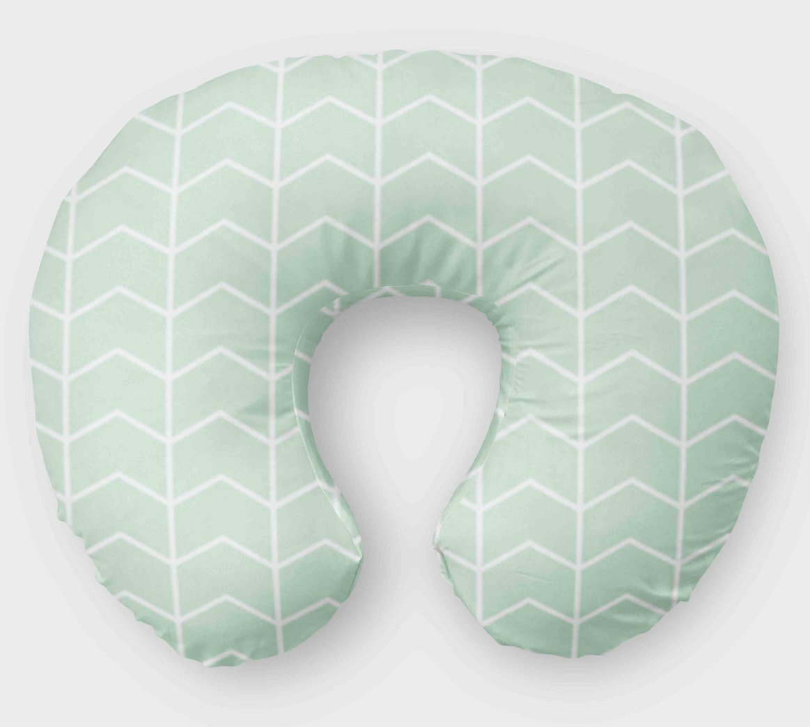 Mint Boppy Cover - Nursing Pillow Cover - Orange Blossom Special  @orangeblossomspecial805
