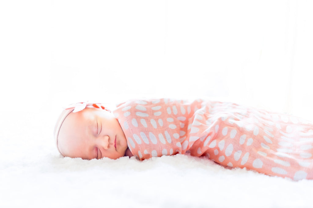 Pink Swaddle Sack, Swaddle, Cocoon, Sleep Sack, - Dream Evergreen @DreamEvergreen
