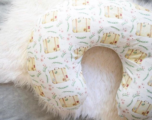 Suitcase Boppy cover