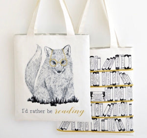 Rather be Reading Tote - Dream Evergreen @DreamEvergreen