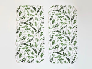 Greenery Burp Cloths - Set of 2 - Dream Evergreen @DreamEvergreen