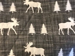 Moose Burp Cloths - Set of 3 - Dream Evergreen @DreamEvergreen