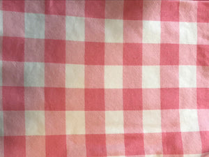 Pink Gingham Swaddle Sack