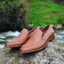 Mocasines de Cuero Devon b. natural