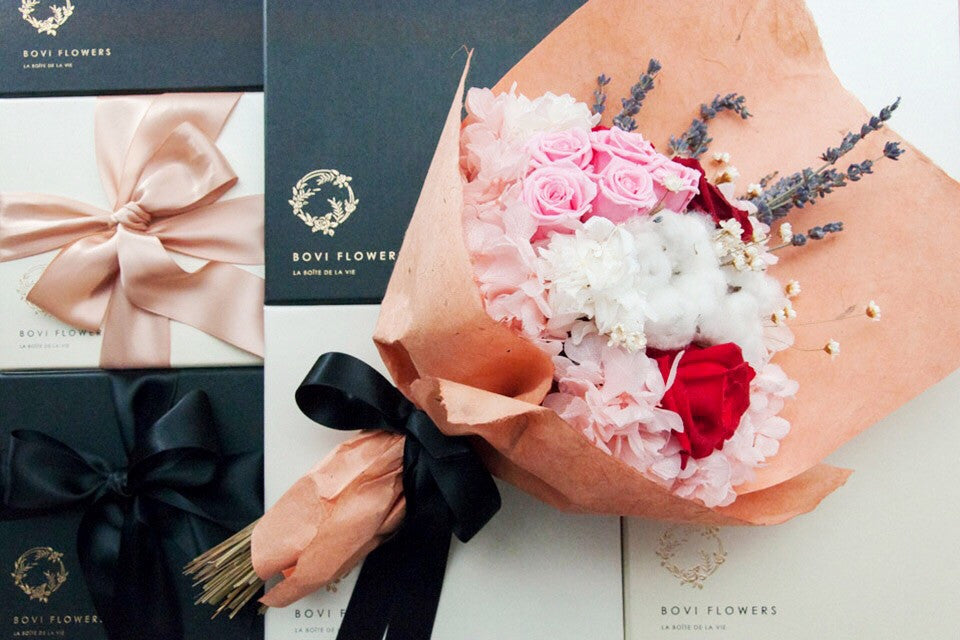 Everlasting Roses - Mon Amour Bouquet