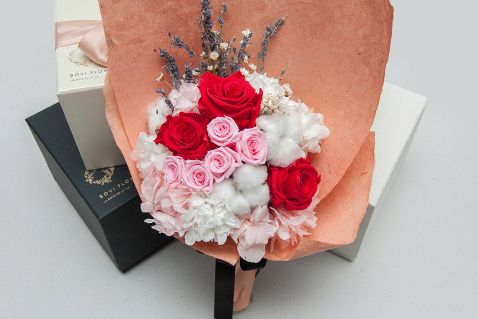 Everlasting Bouquet - Mon Amour - Bovi Flowers