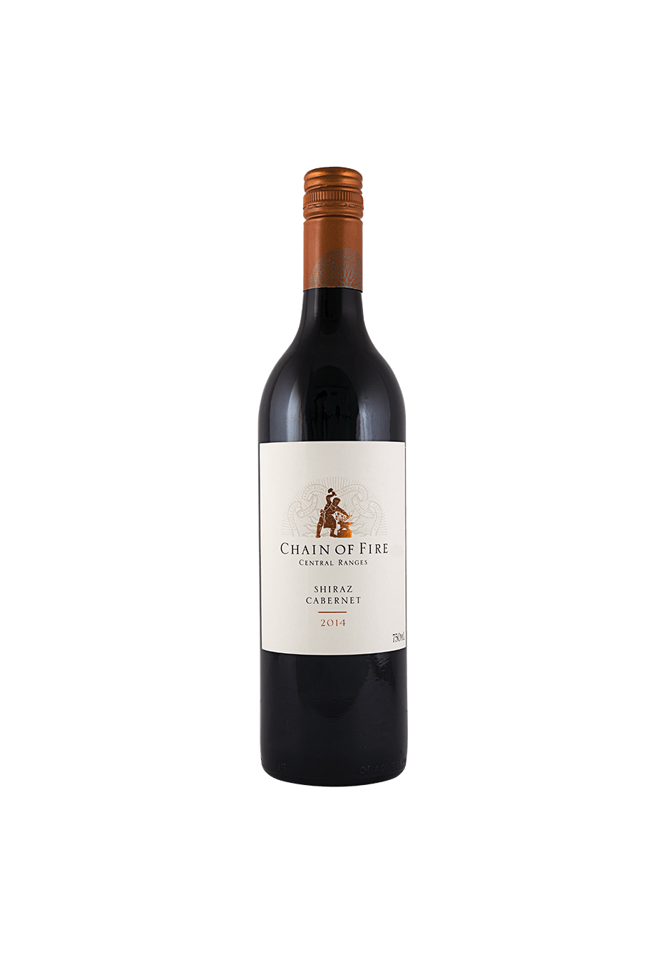 Chain Of Fire Shiraz Central Ranges Cabernet 2015