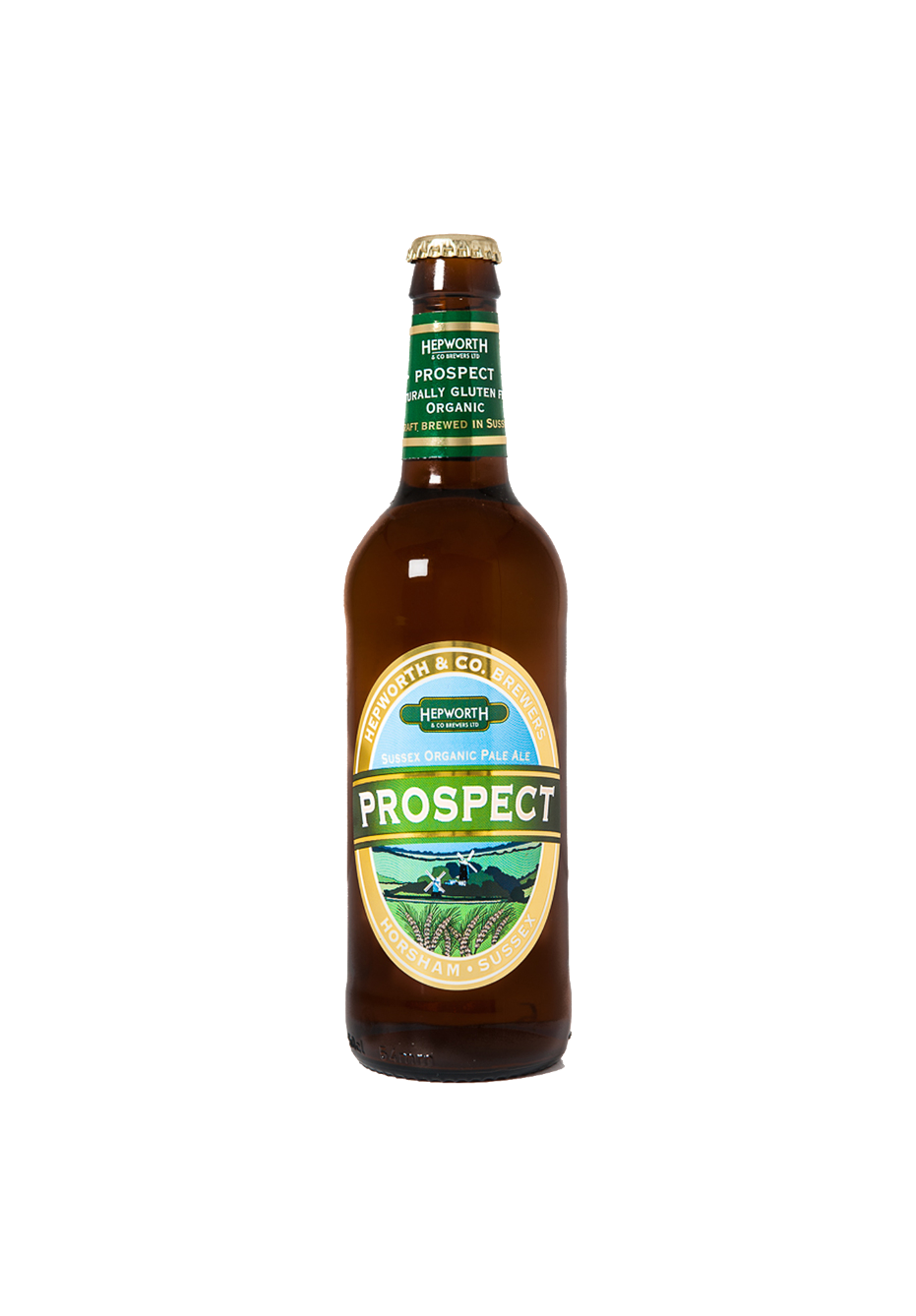 Hepworth & Co Prospect Organic Pale Ale (500 ml bottle)