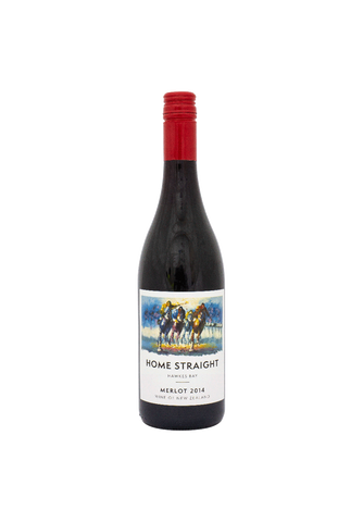 Home Straight Hawkes Bay Merlot 2014