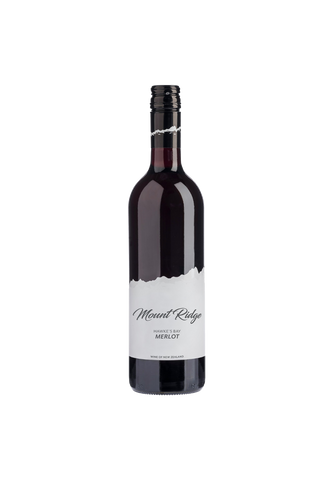 Mount Ridge Hawkes Bay Merlot 2020