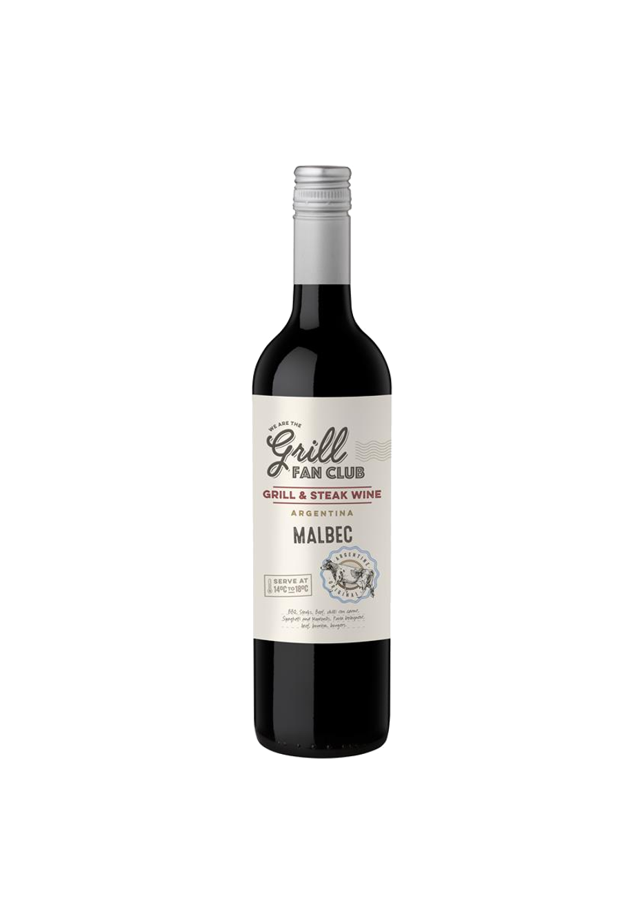 The Grill Master Fan Club Argentinian Malbec 2017