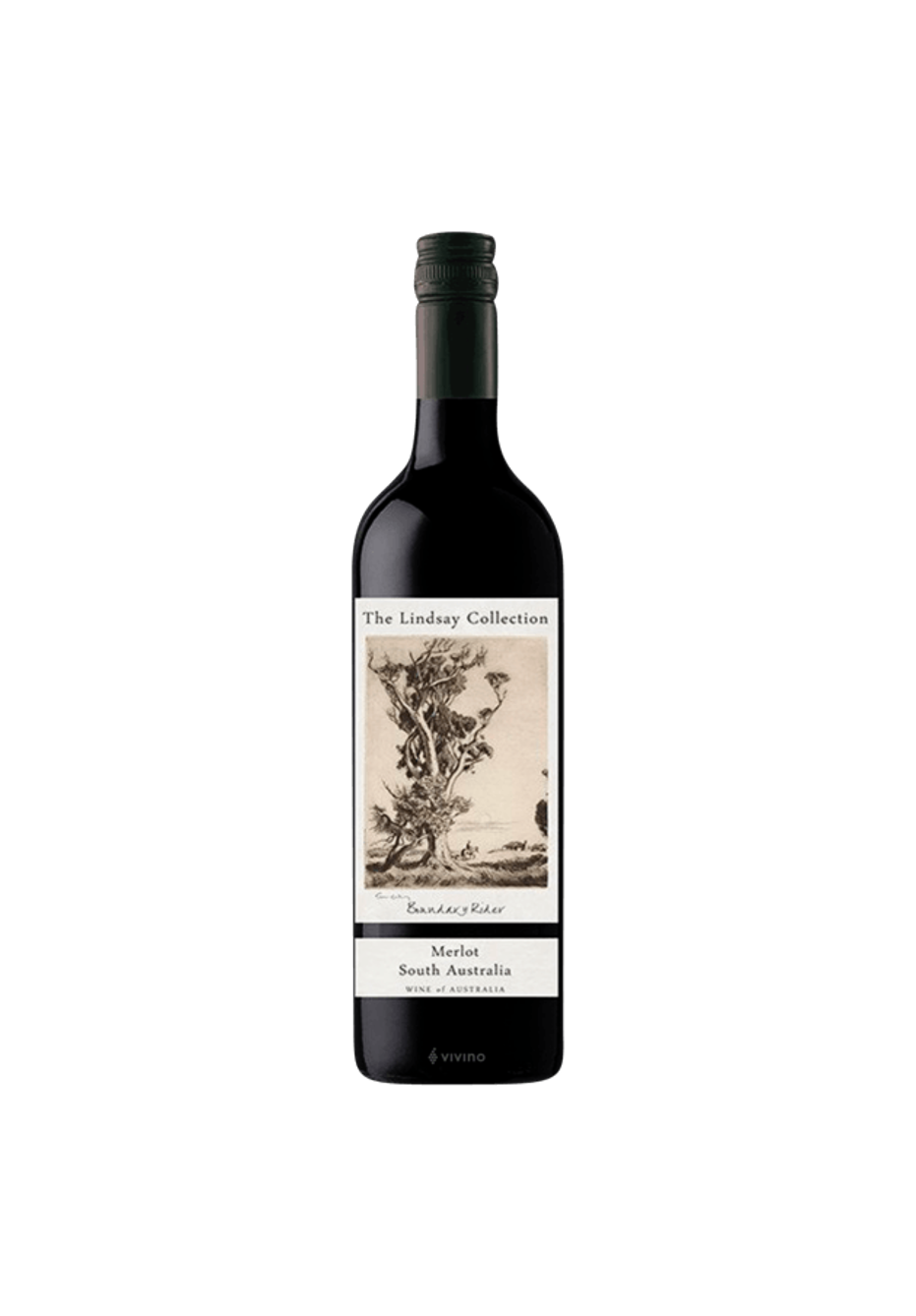 The Lindsay Collection 'Boundary Rider' South Australian Merlot 2019