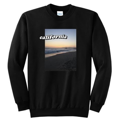Official Pwincessly California State Sweaters