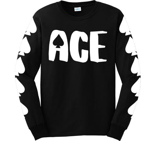 Official Mr. Red Full Ace Text Longsleeve