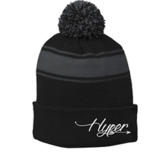 Official Dylan Hyper Black and Grey Beanie