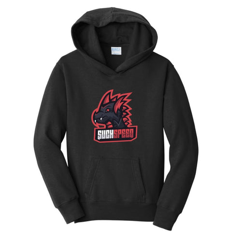 Official SuchSpeed Full Flaming Dragon Hoodie