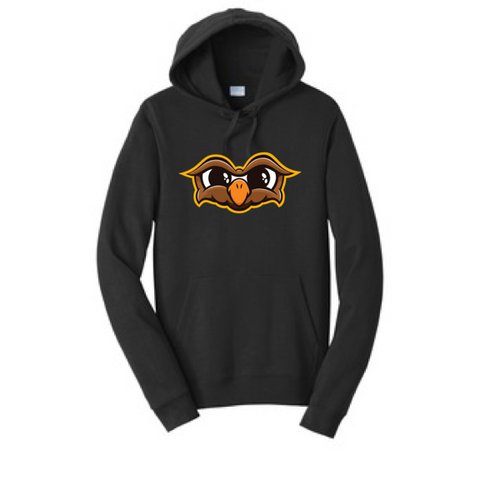 Official Doni Bobes Owl Logo Black Hoodie