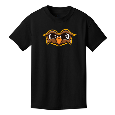 Official Doni Bobes Owl Logo Black Shirt