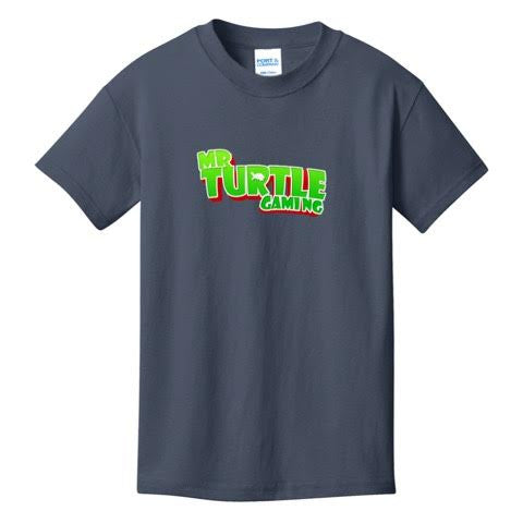 Official Mr. Turtle Gaming Text Logo Shirts