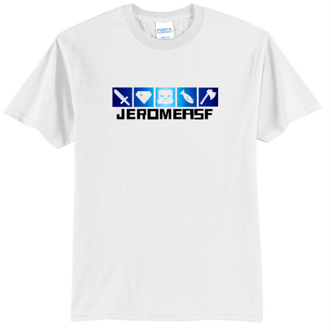 JeromeASF Signature Battle Block White Shirt