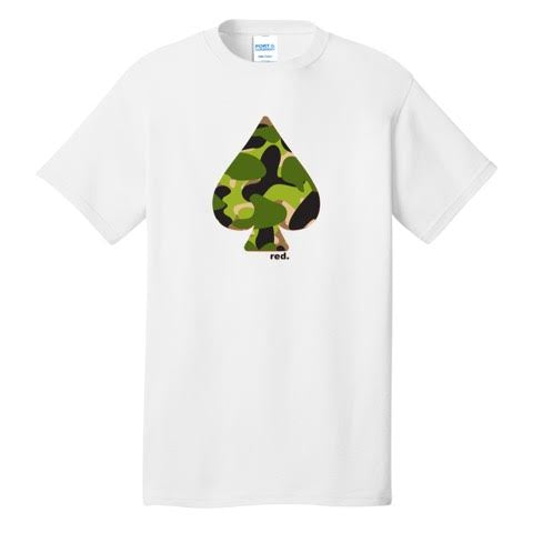 Official Mr. Red Camo Ace Shirt