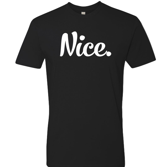 Limited Time: Signature Black & White Nice Posture Shirt- JeromeASF Signed