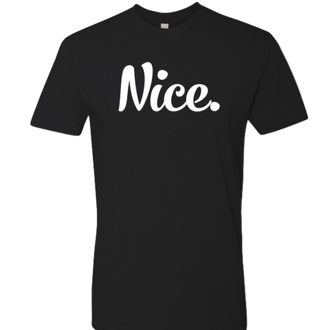 Signature Black & White Nice Posture Shirt