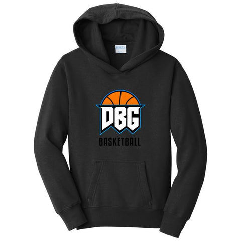 Official DBG Basketball Chest Logo and Text Hoodie