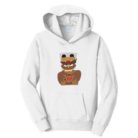 Official Doni Bobes Not A Duck Hoodie