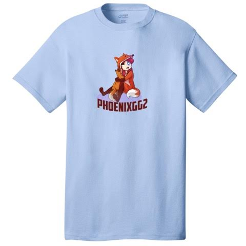 Official Phoenixgg2 Brown Fox Avatar Shirt