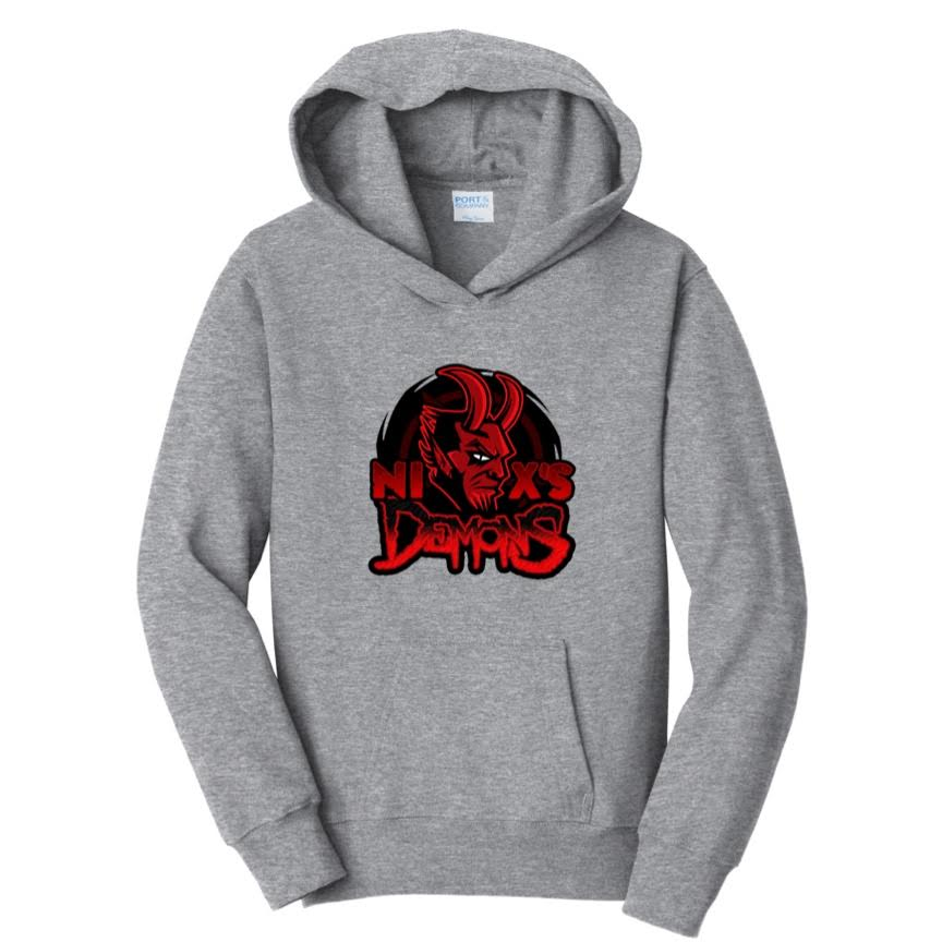 Official NixVG's Demons Logo Hoodies