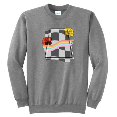 Official Pwincessly Rainbow Checkers Sweaters