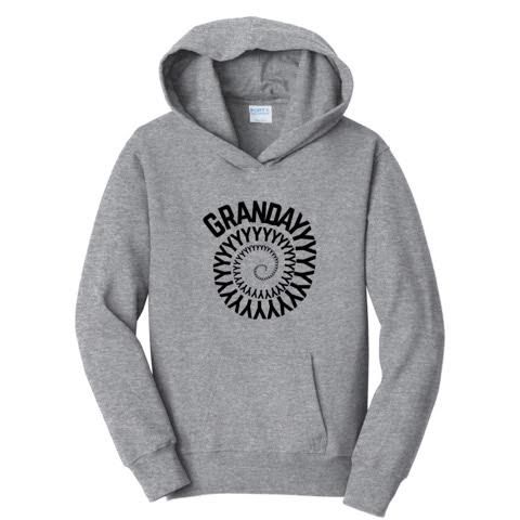 Official Grandayy Full Spiral Logo Hoodies