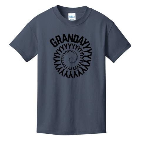 Official Grandayy Full Spiral Logo T-Shirts