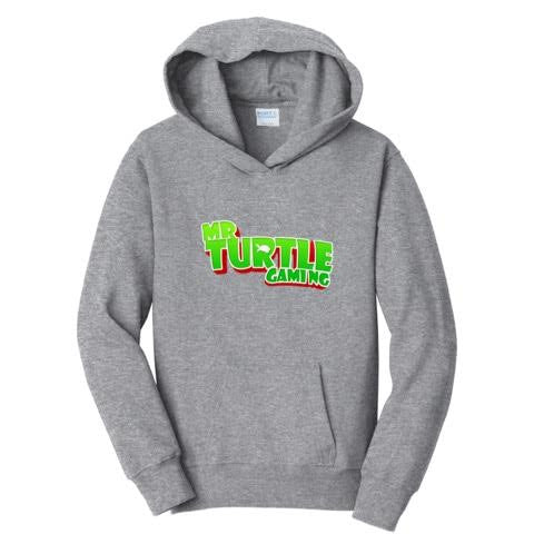 Official Mr. Turtle Gaming Text Logo Hoodies