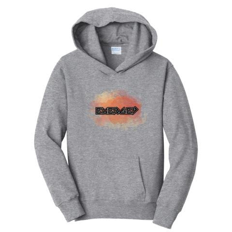 Official TheEmergedRaider Grey Hoodies