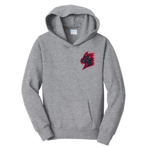 Official SuchSpeed Flaming Dragon Chest Hoodie
