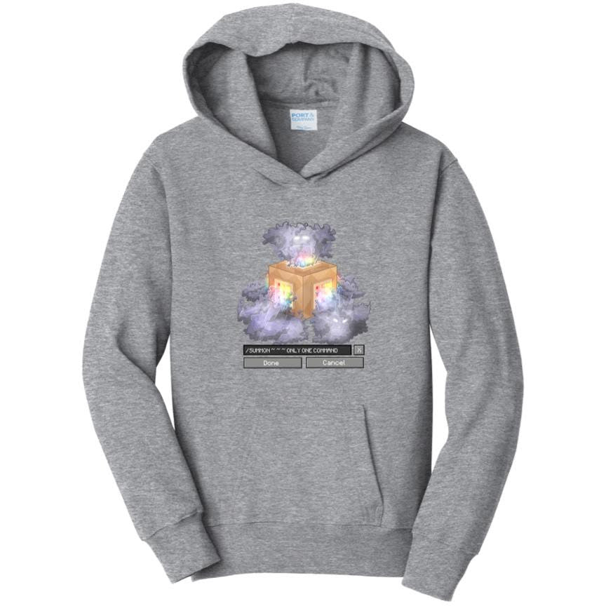 Official Logdotzip Only One Command Hoodie