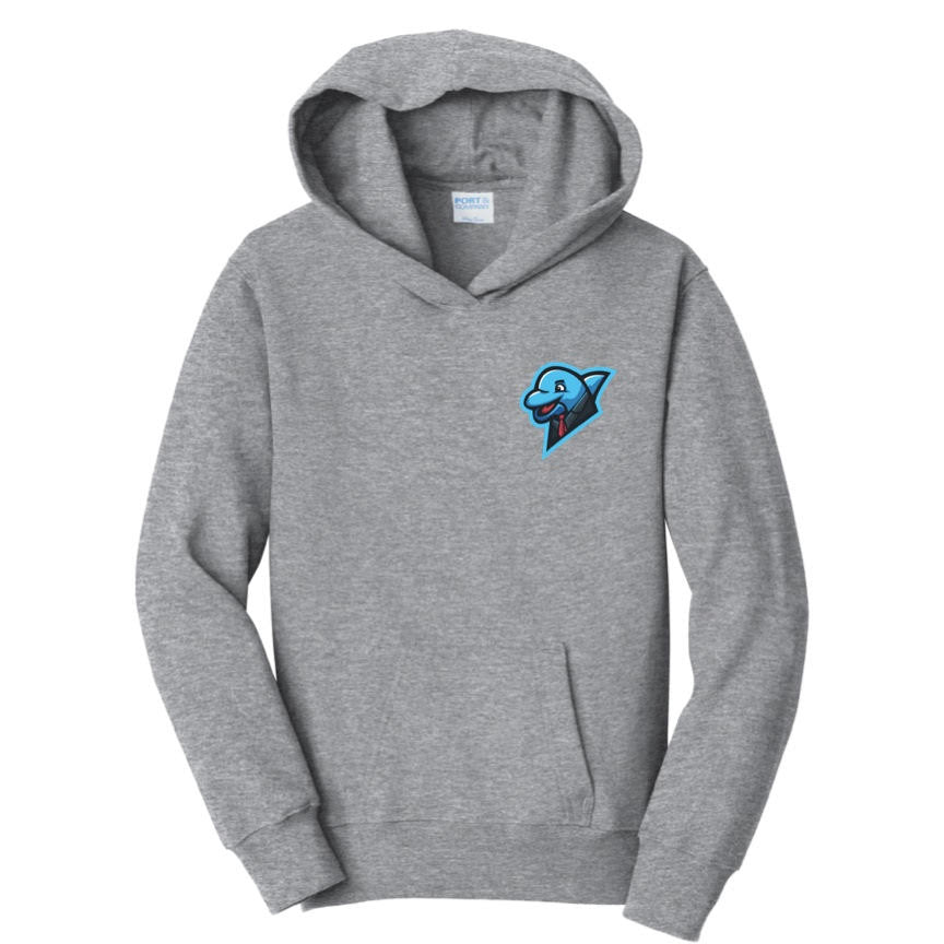 Limited xNestorio Blue Logo Dolphin Chest Hoodie
