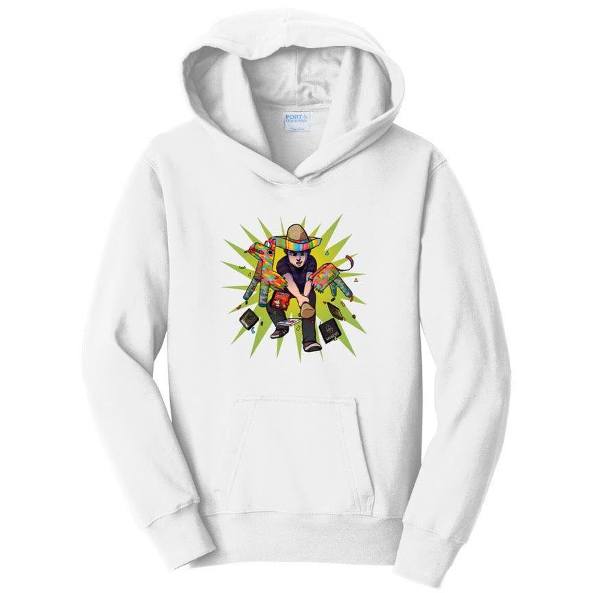 Official Grohlvana Full Chest Logo Hoodie