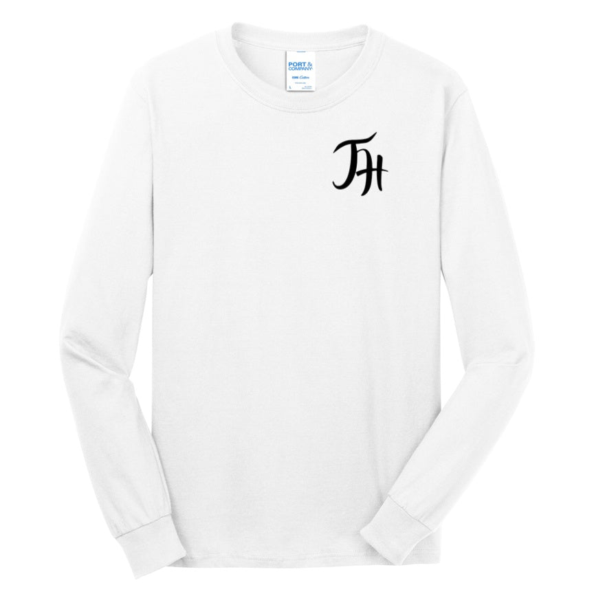 Official Jordan Houston Logo'd Long Sleeve Chest Shirts