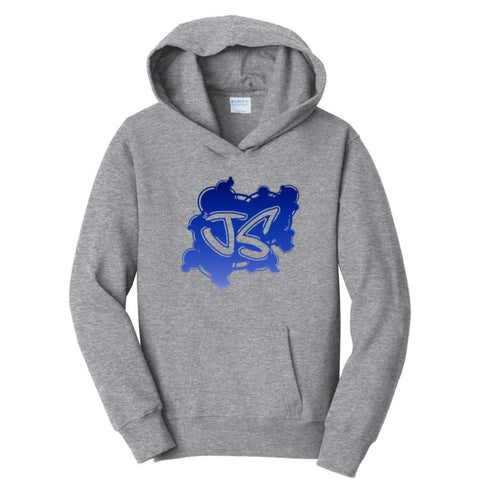 Limited Edition Just Silver Logo Hoodies
