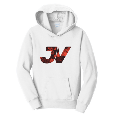 Official JustVurb JV Red Logo Hoodie