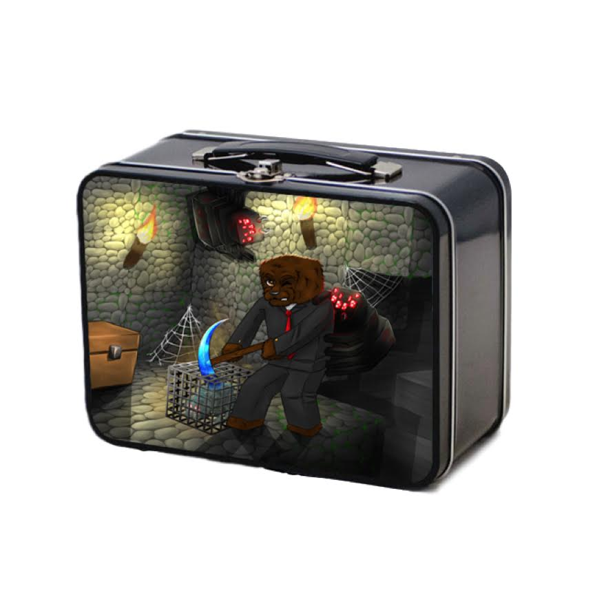 PRESALE: Official JeromeASF Retro Lunchbox