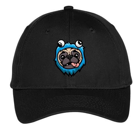 Official JustVurb Pug Logo Hat