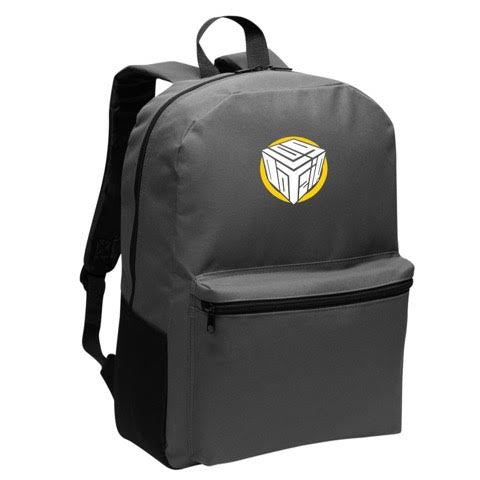 Official Logdotzip Block Logo Backpack